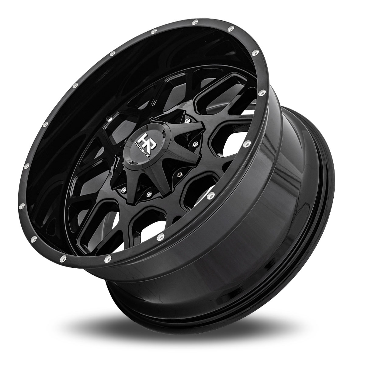 Hardrock Offroad H705 20x10 Gloss Black Dimples